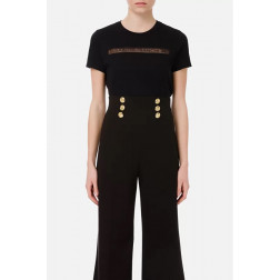 ELISABETTA FRANCHI - T/shirt ricamo MA18411E2 110