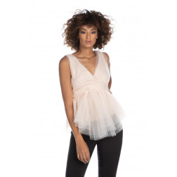 RELISH - Top in tulle RDP2103009037 1453 NOWSHAK