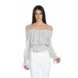 RELISH - Blusa pois RDP2103009027 1101 MONSERRATE