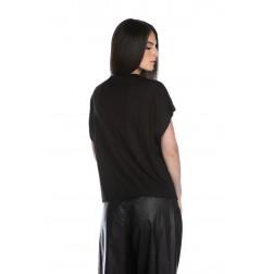 RELISH - T-shirt con scritta RDP2101033016 1199 BERSAIO