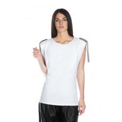 RELISH - T-shirt con spallina imbottita RDP2101016037 1101 BUTRYDE