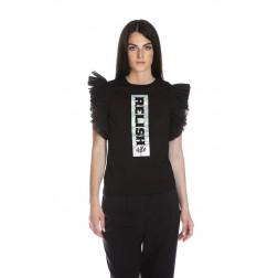 RELISH - T-shirt con tulle RDP2101033017 1199 BOBOTOV