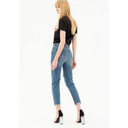FRACOMINA - Jeans boyfriend con strappi FR21SP5031 D40002 430