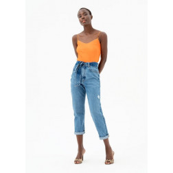 FRACOMINA - Jeans cropped FP21SP2050 D40002 430