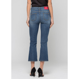 KOCCA - Jeans flare cropped NAKI L357