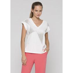 KOCCA - T-shirt con applicazioni BOBO 60725