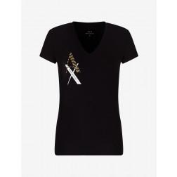 ARMANI EXCHANGE - T-shirt scollo a V 3KYTGW YJC7Z 1200