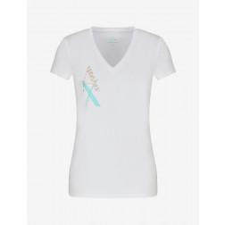 ARMANI EXCHANGE - T-shirt scollo a V 3KYTGW YJC7Z 1000