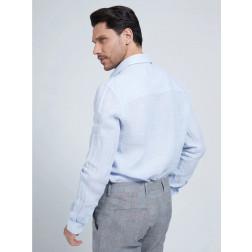 MARCIANO GUESS - Camicia in lino 1GH439 4373Z H899