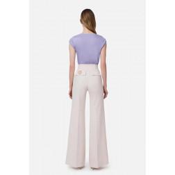 ELISABETTA FRANCHI - Pantalone zampa PA38111E2 686