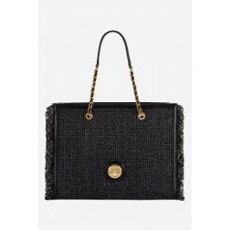 ELISABETTA FRANCHI - Shopper in tweed BS36A13E2 110