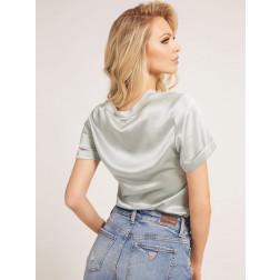 GUESS - T-shirt in misto seta W1YH0C WE0Z0 GCTD