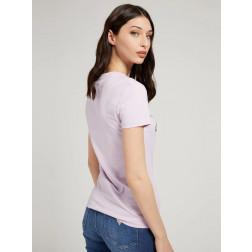 GUESS - T-shirt logo con strass W1YI85 J1311 G4R4