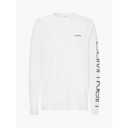CALVIN KLEIN - T/shirt manica lunga K10K107156 YAF