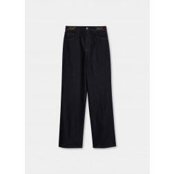 LIU JO JEANS - Jeans scuro flare UF1102 D3092 77000