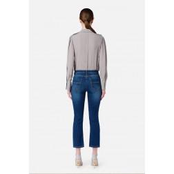 ELISABETTA FRANCHI - Jeans staffa oro PJ17S16E2 139