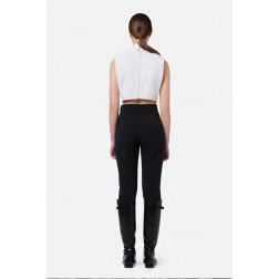 ELISABETTA FRANCHI - Pantalone con logo PA38616E2 110