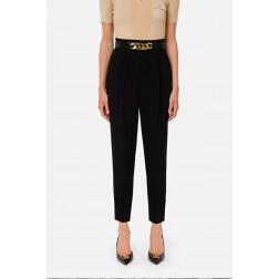 ELISABETTA FRANCHI - Pantalone con cintura PA39116E2 110