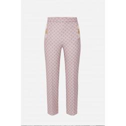 ELISABETTA FRANCHI - Pantalone stampato PA37716E2 Q93