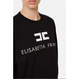 ELISABETTA FRANCHI - Felpa logo MD00116E2 685