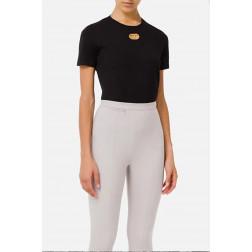 ELISABETTA FRANCHI - T/shirt oblo MA26N16E2 110