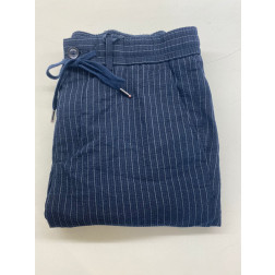 TOMMY HILFIGER - Pantalone chino gessato MW17923 DW5