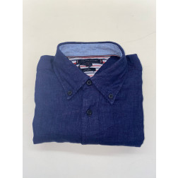 TOMMY HILFIGER - Camicia in lino MW17646 DY4