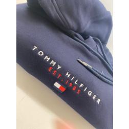 TOMMY HILFIGER - Felpa hoodie essential MW17382 DW5