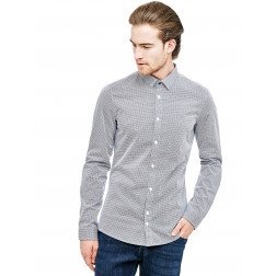 GUESS - Camicia microfantasia